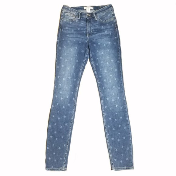 H&M Denim - 🎁 H&M L.O.G.G Star medium wash Skinny Jeans Sx 28
